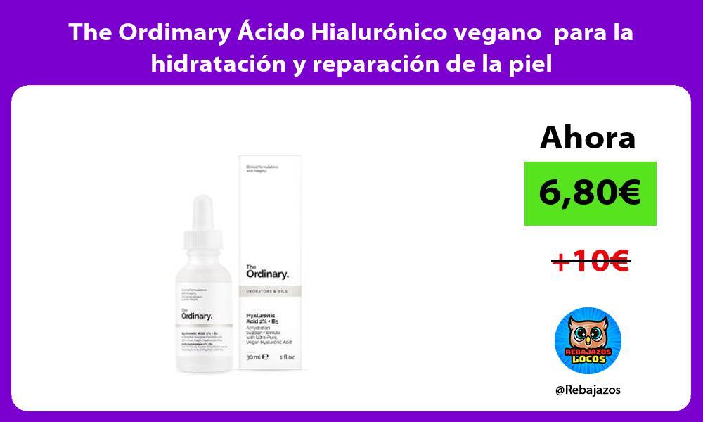 The Ordimary Acido Hialuronico vegano para la hidratacion y reparacion de la piel
