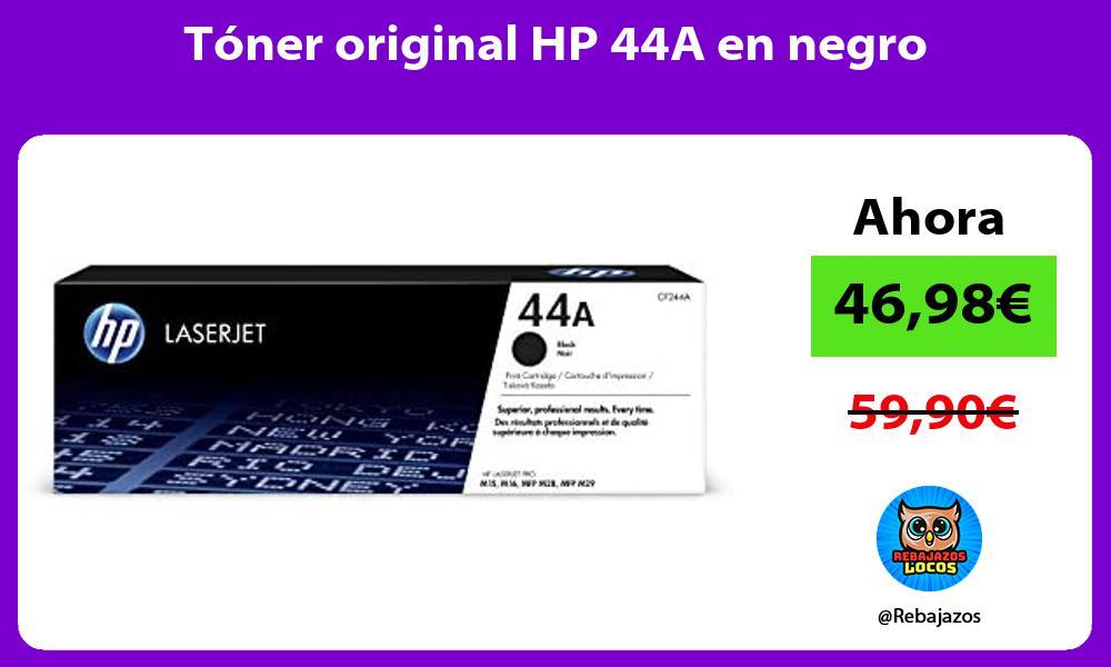 Toner original HP 44A en negro