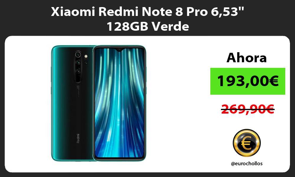 Xiaomi Redmi Note 8 Pro 653 128GB Verde
