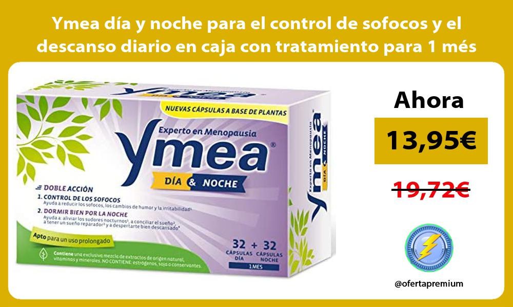 Ymea dia y noche para el control de sofocos y el descanso diario en caja con tratamiento para 1 mes