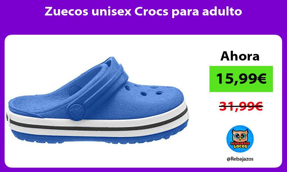 Zuecos unisex Crocs para adulto