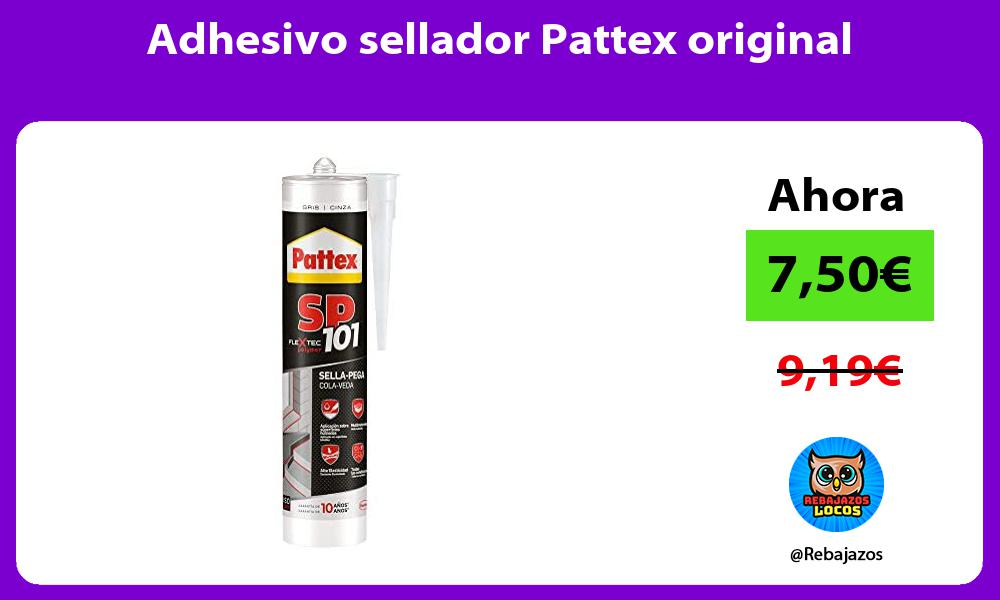 Adhesivo sellador Pattex original