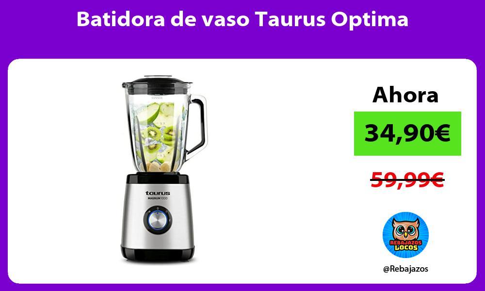 Batidora de vaso Taurus Optima