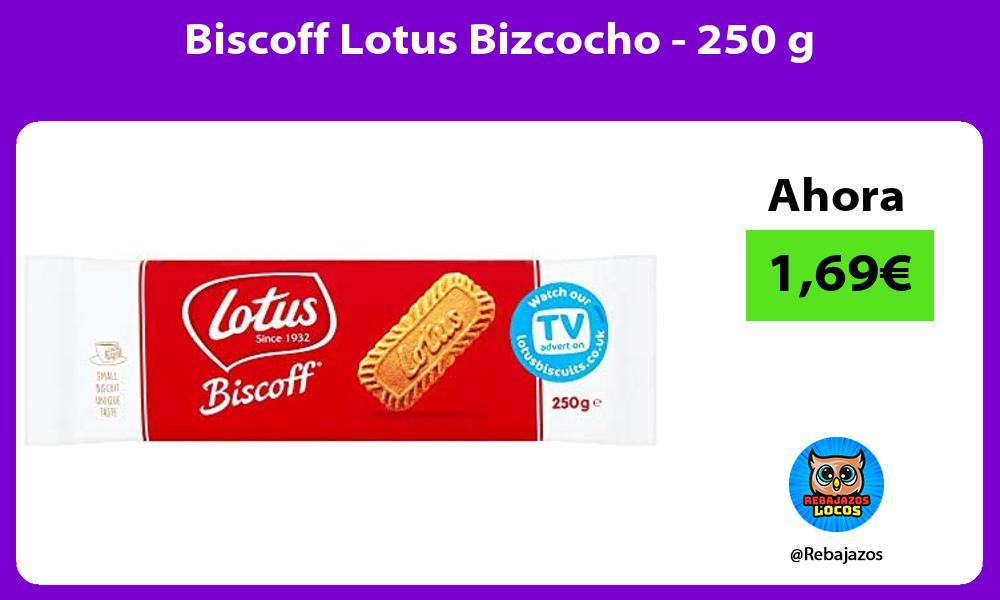 Biscoff Lotus Bizcocho 250 g