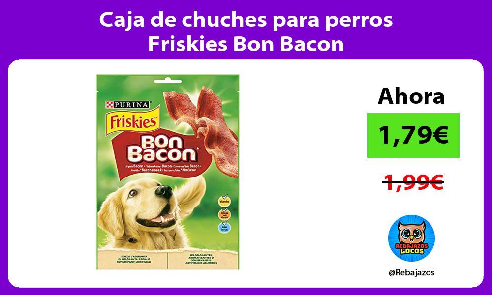 Caja de chuches para perros Friskies Bon Bacon