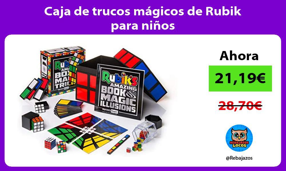 Caja de trucos magicos de Rubik para ninos