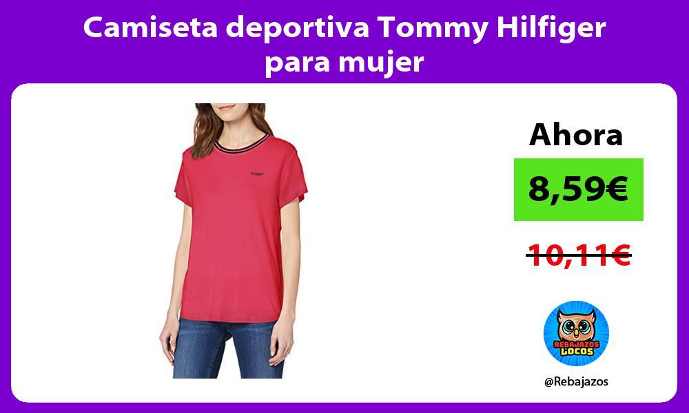 Camiseta deportiva Tommy Hilfiger para mujer