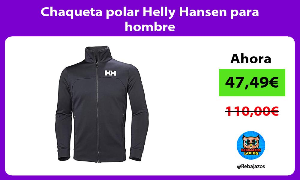 Chaqueta polar Helly Hansen para hombre