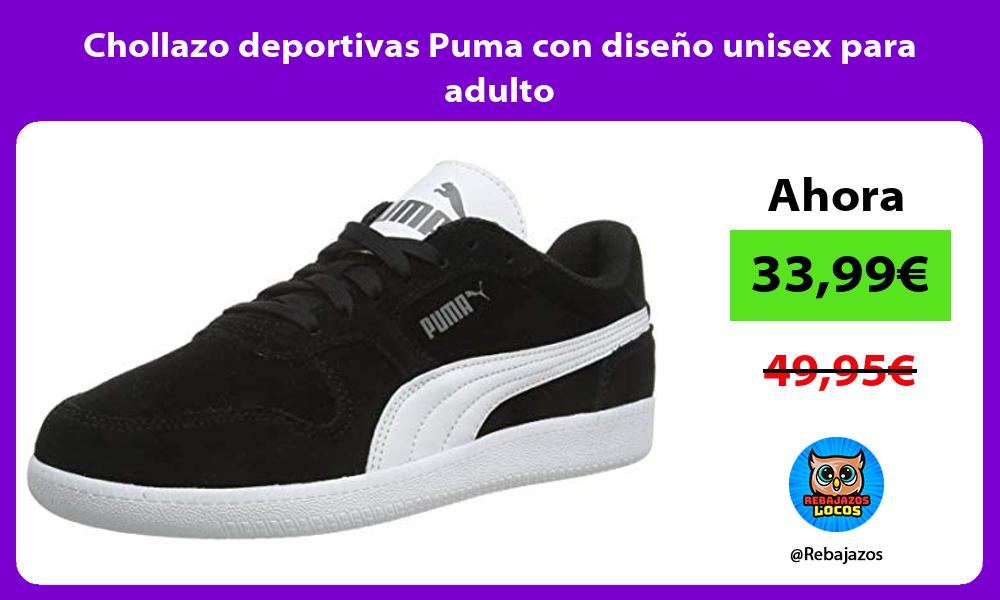 Chollazo deportivas Puma con diseno unisex para adulto