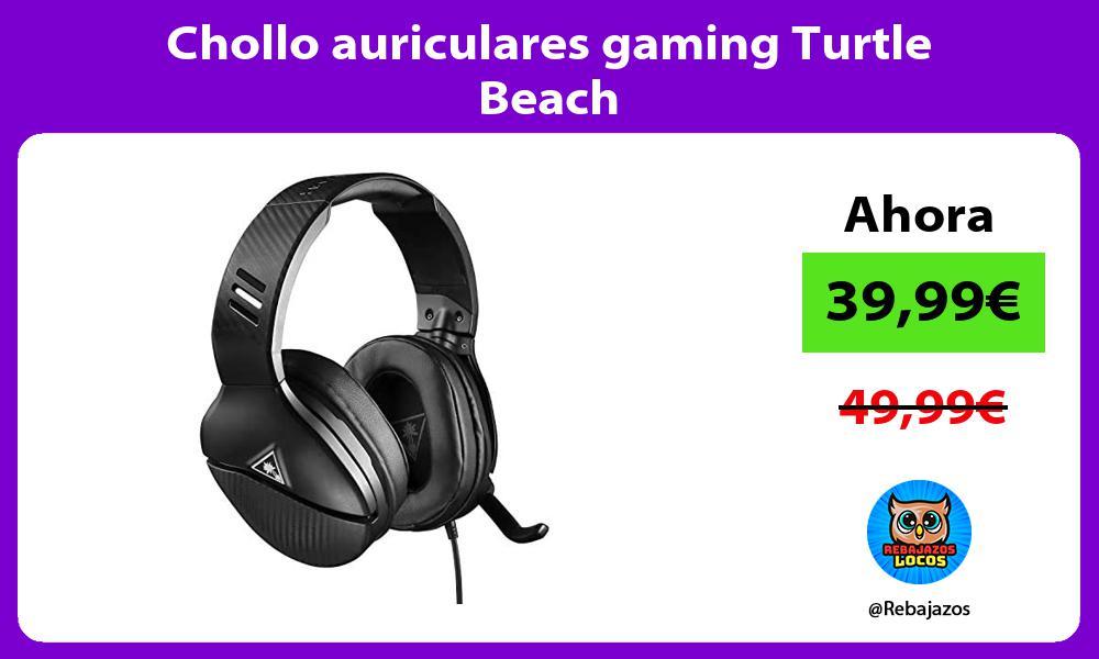 Chollo auriculares gaming Turtle Beach