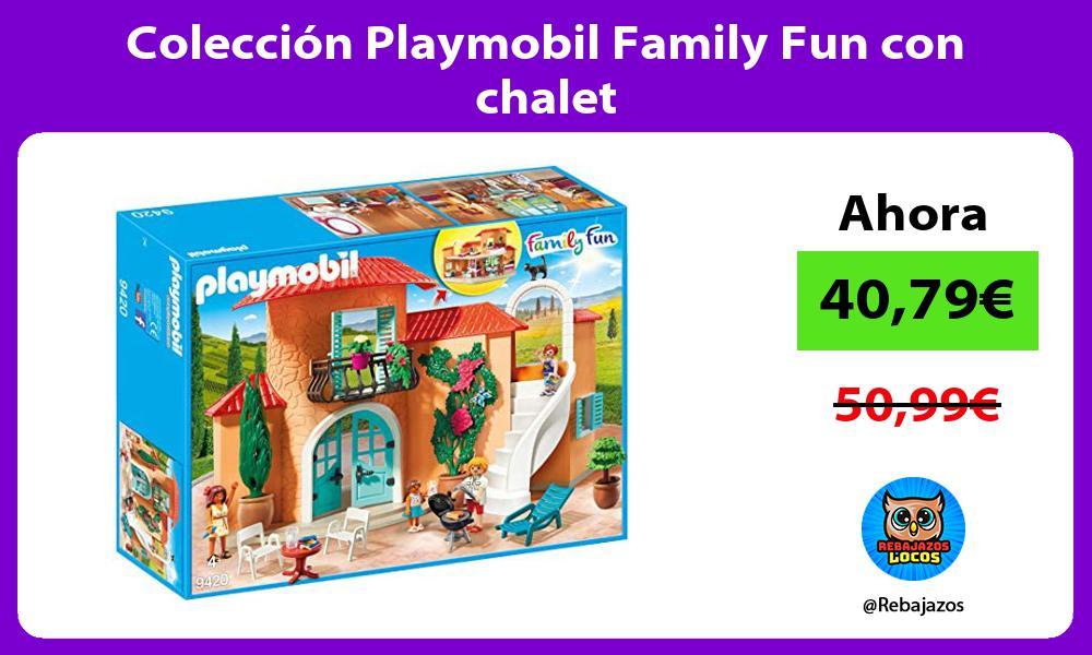 Coleccion Playmobil Family Fun con chalet