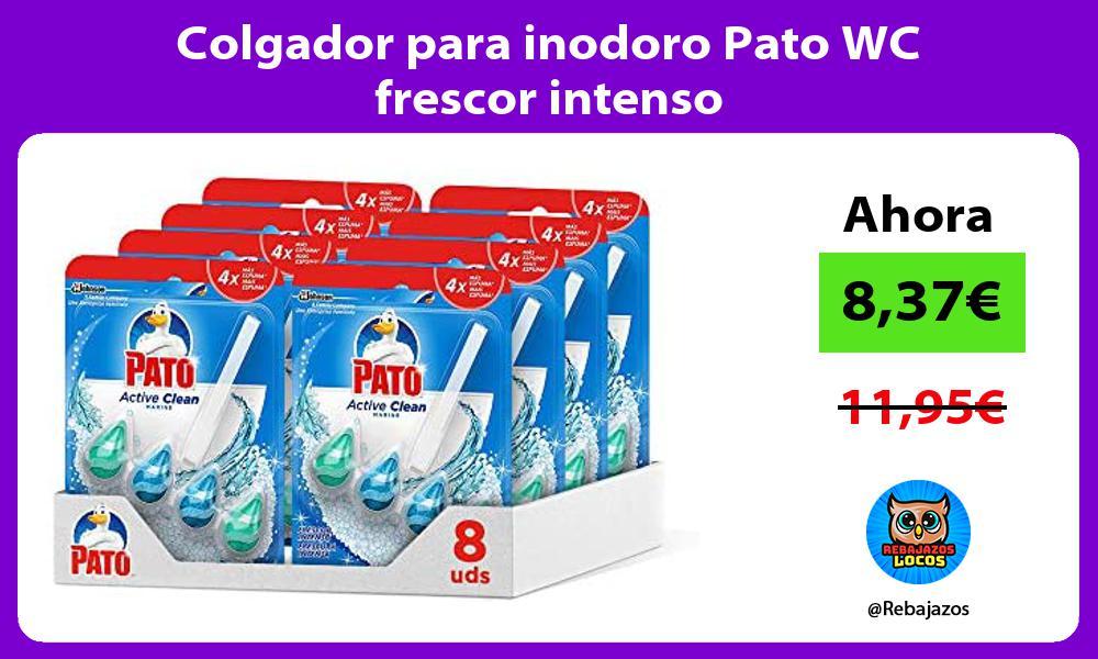 Colgador para inodoro Pato WC frescor intenso