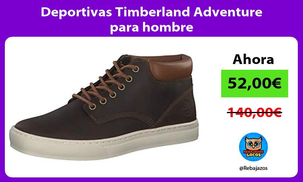 Deportivas Timberland Adventure para hombre