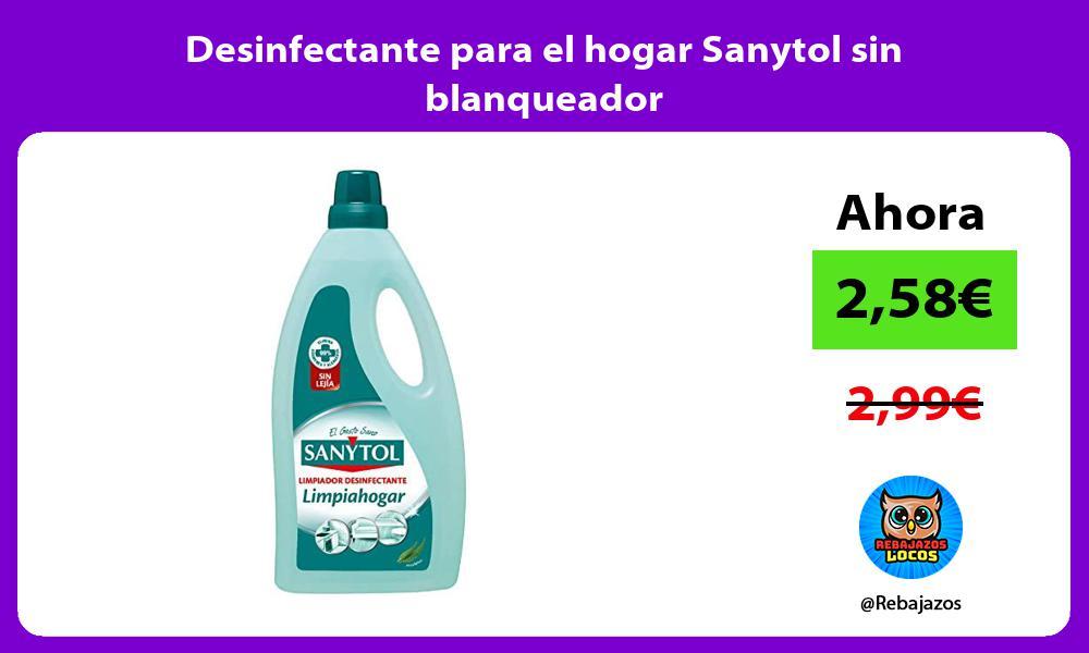 Desinfectante para el hogar Sanytol sin blanqueador