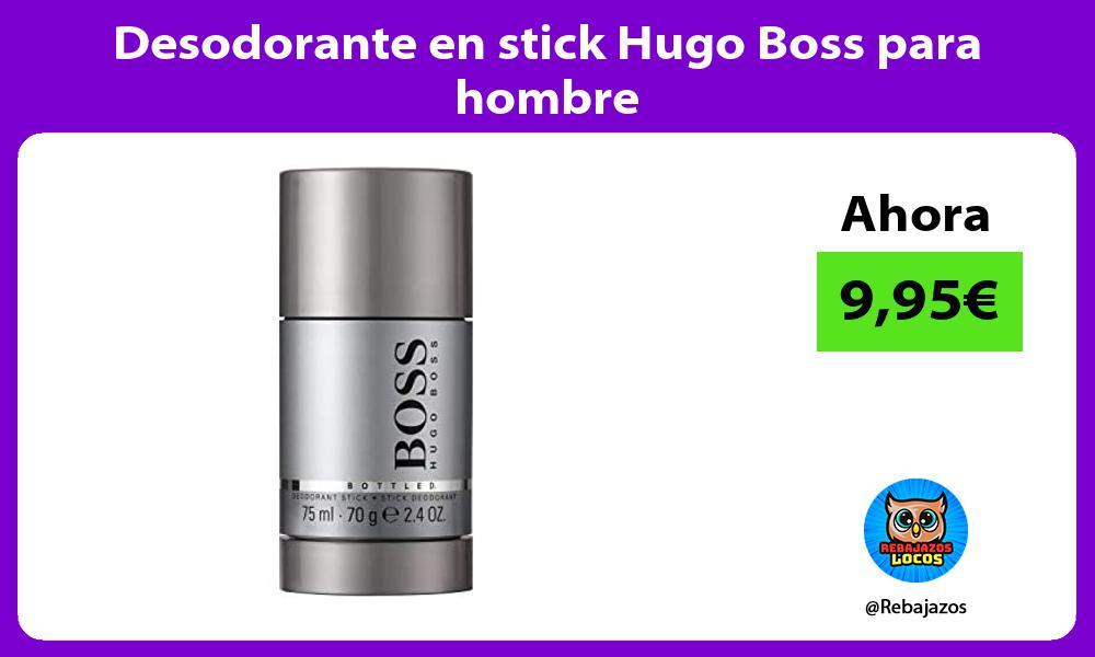 Desodorante en stick Hugo Boss para hombre