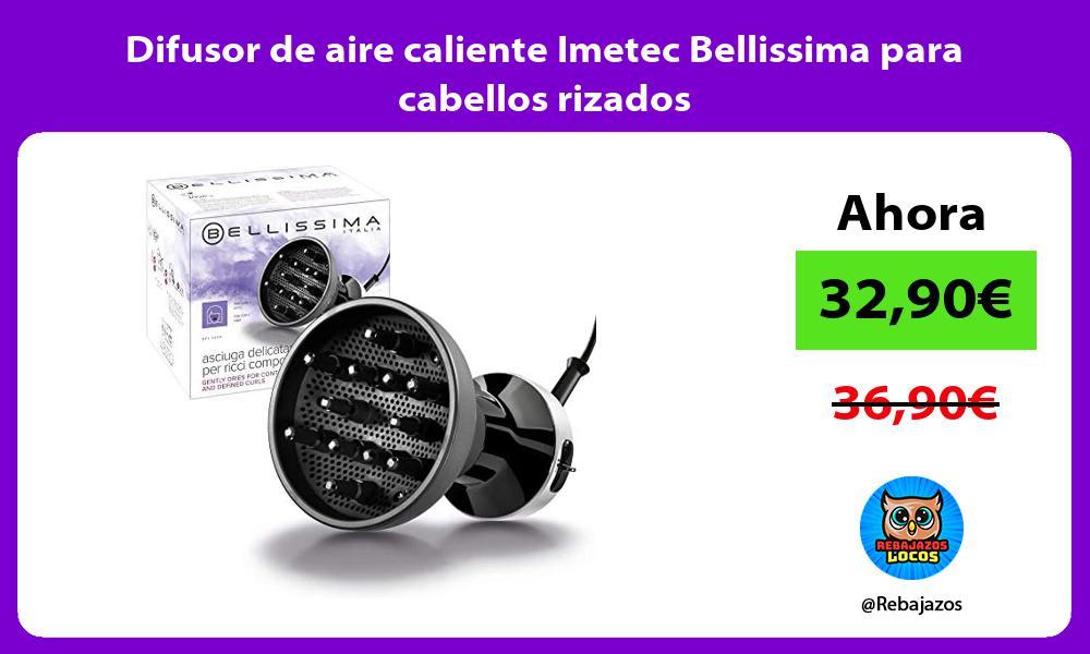 Difusor de aire caliente Imetec Bellissima para cabellos rizados