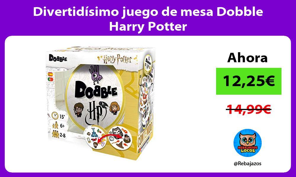 Divertidisimo juego de mesa Dobble Harry Potter