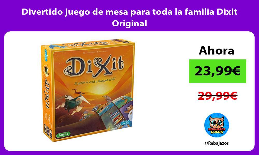 Divertido juego de mesa para toda la familia Dixit Original