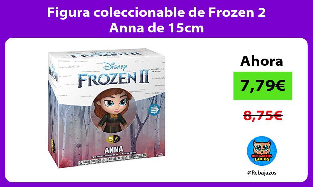 Figura coleccionable de Frozen 2 Anna de 15cm