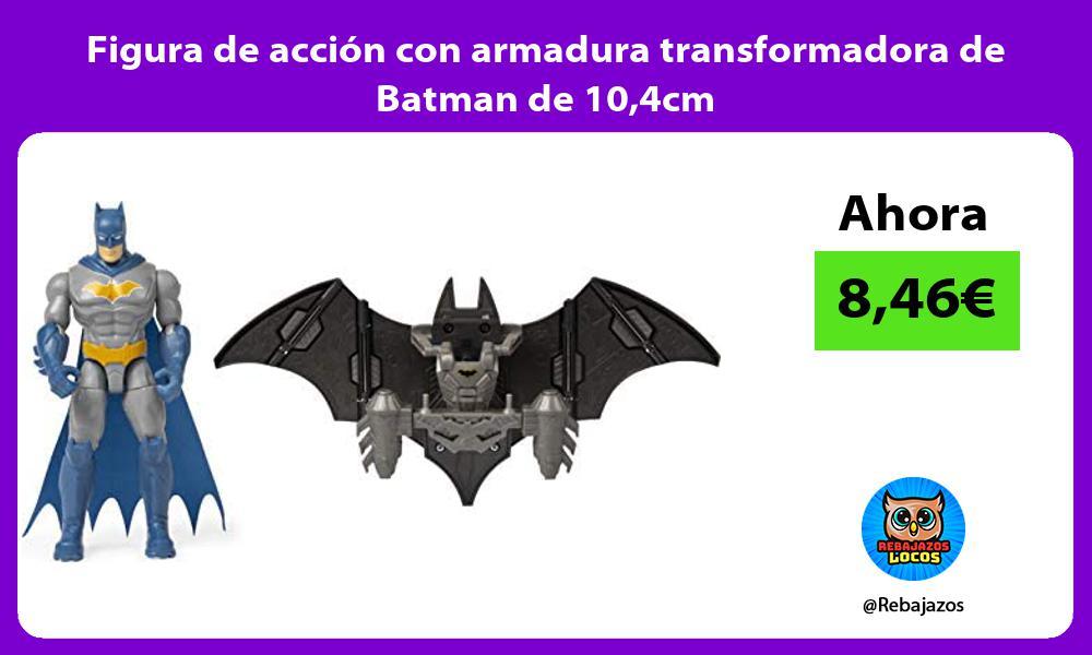 Figura de accion con armadura transformadora de Batman de 104cm