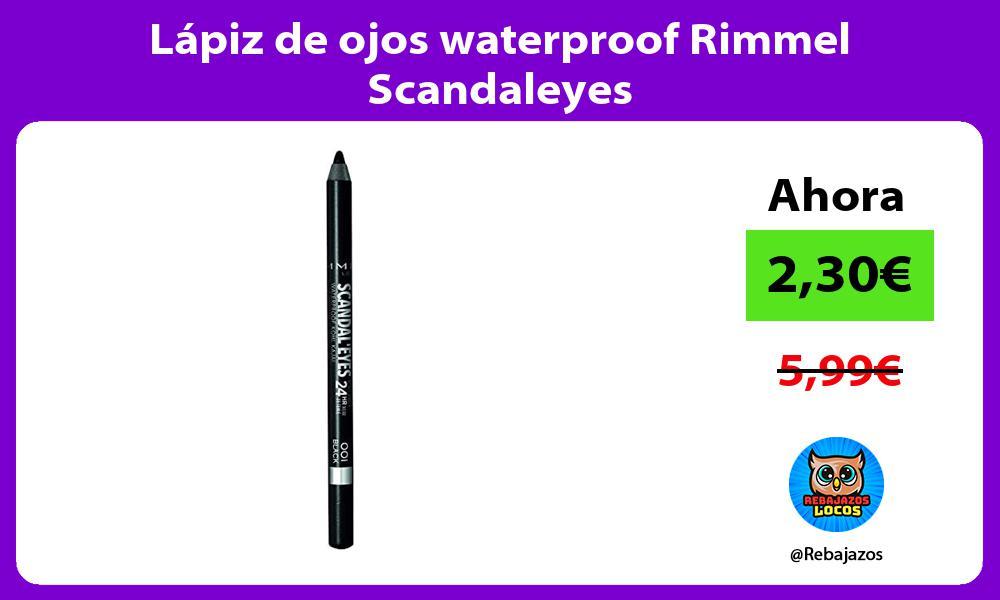 Lapiz de ojos waterproof Rimmel Scandaleyes