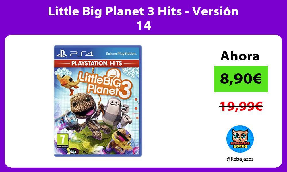 Little Big Planet 3 Hits Version 14