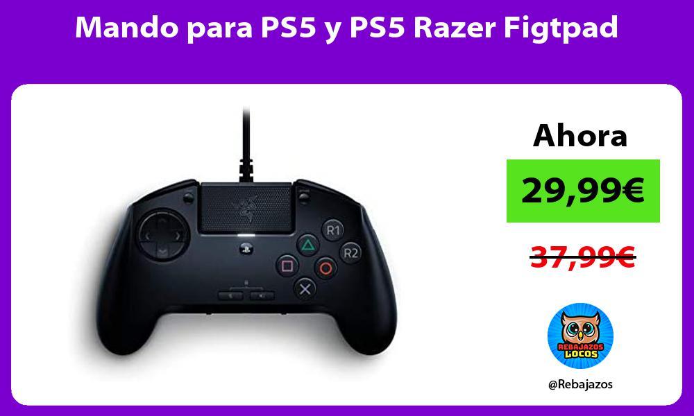 Mando para PS5 y PS5 Razer Figtpad