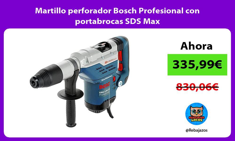 Martillo perforador Bosch Profesional con portabrocas SDS Max