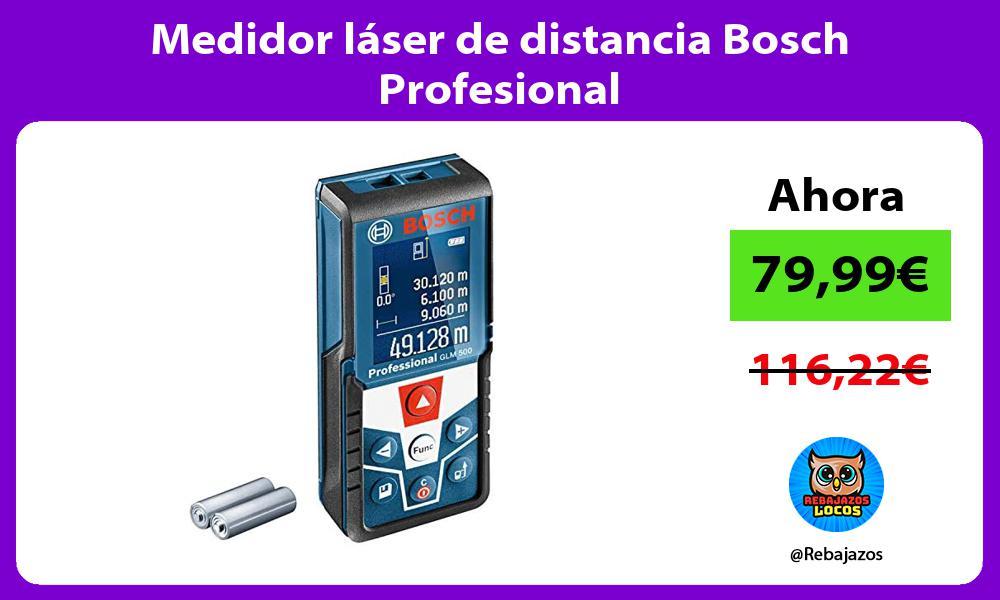 Medidor laser de distancia Bosch Profesional