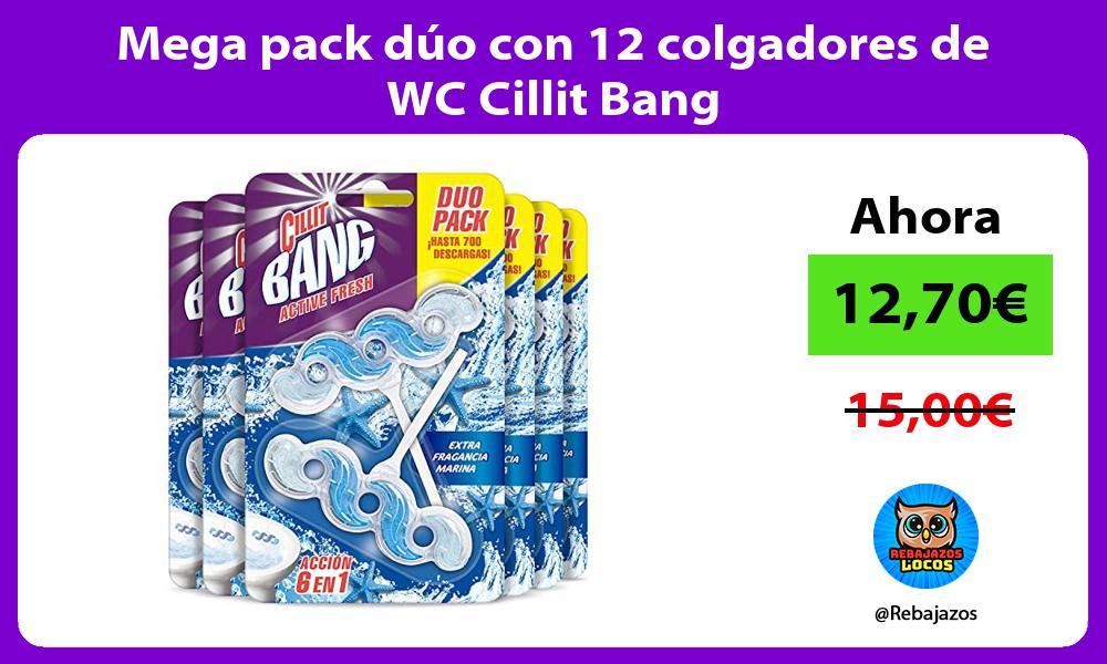 Mega pack duo con 12 colgadores de WC Cillit Bang