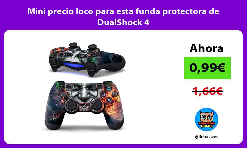 Mini precio loco para esta funda protectora de DualShock 4