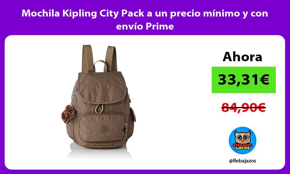 Mochila Kipling City Pack a un precio minimo y con envio Prime