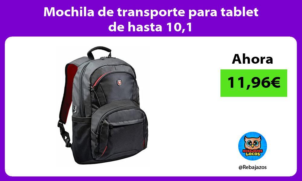 Mochila de transporte para tablet de hasta 101