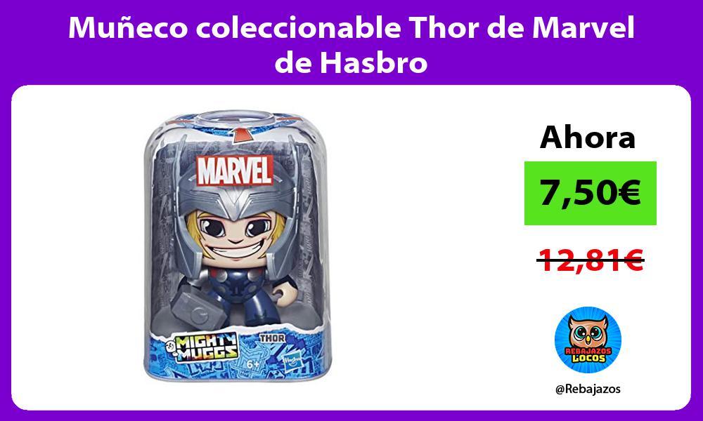 Muneco coleccionable Thor de Marvel de Hasbro