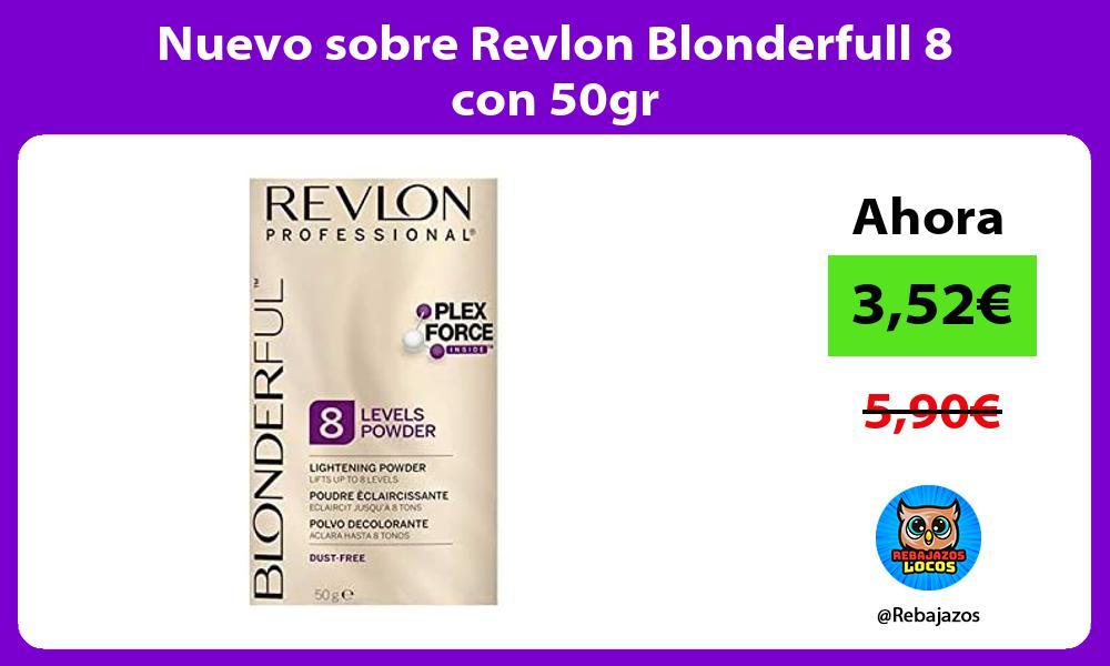 Nuevo sobre Revlon Blonderfull 8 con 50gr