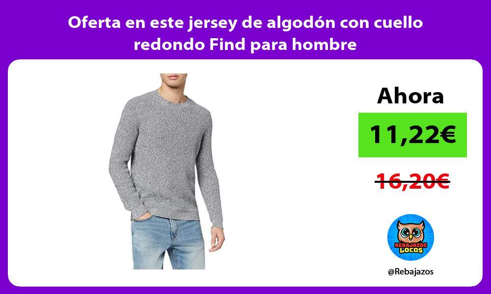Jersey con Cuello Redondo Hombre find