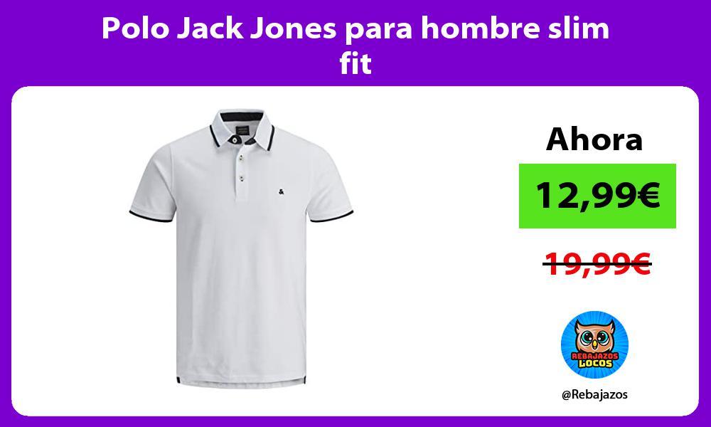 Polo Jack Jones para hombre slim fit