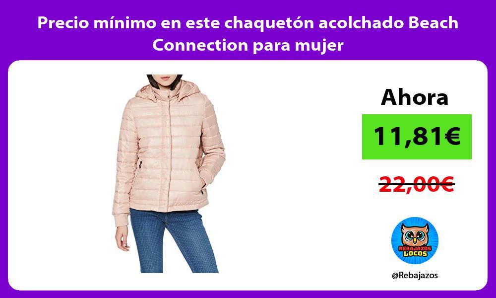 Precio minimo en este chaqueton acolchado Beach Connection para mujer