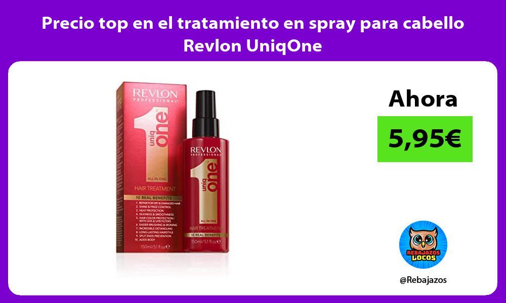 Precio top en el tratamiento en spray para cabello Revlon UniqOne