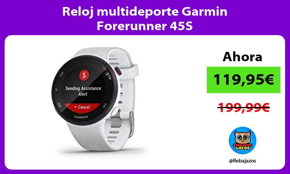 Reloj multideporte Garmin Forerunner 45S