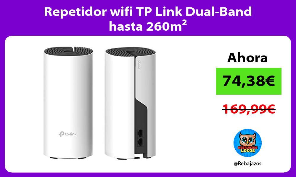 Repetidor wifi TP Link Dual Band hasta 260m²