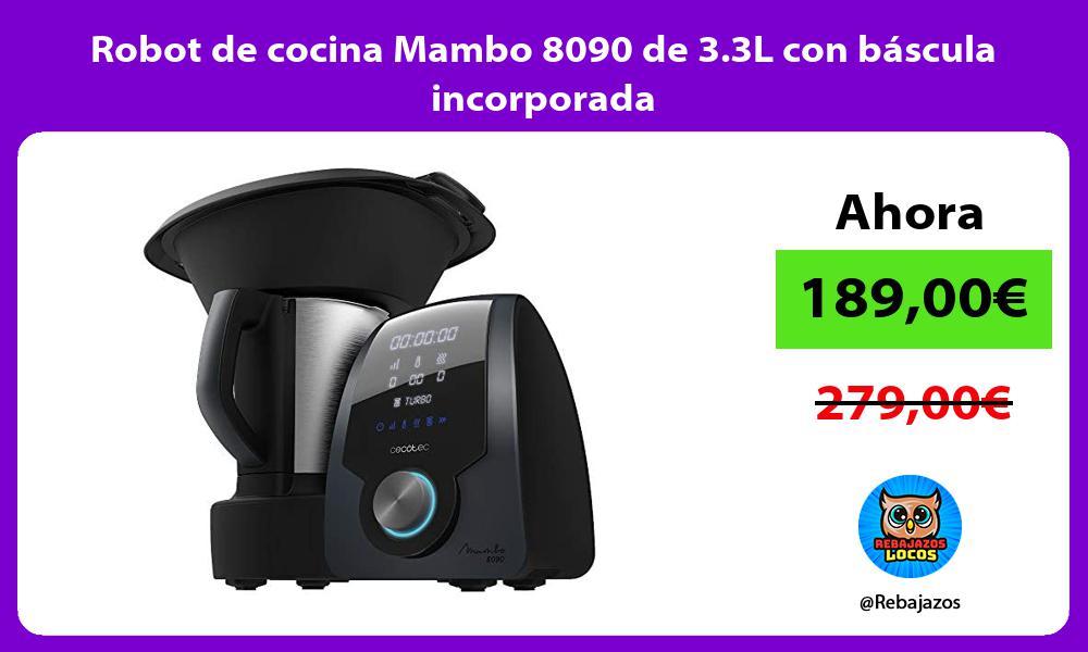 Robot de cocina Mambo 8090 de 3 3L con bascula incorporada