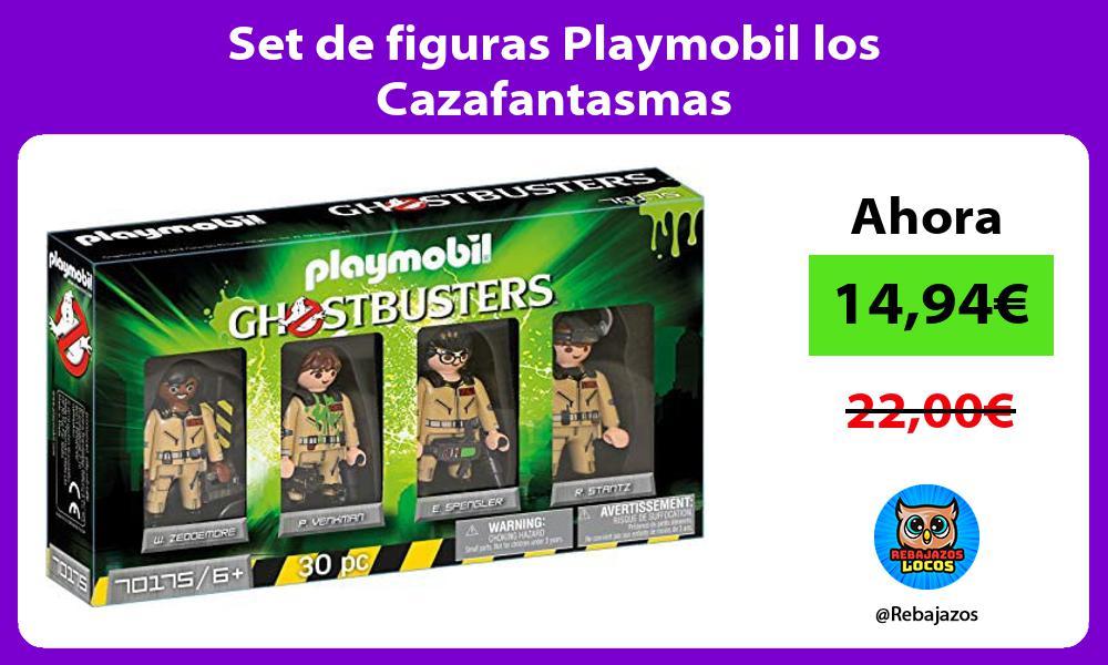 Set de figuras Playmobil los Cazafantasmas