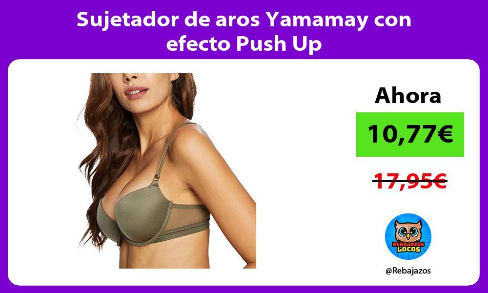 Sujetador de aros Yamamay con efecto Push Up