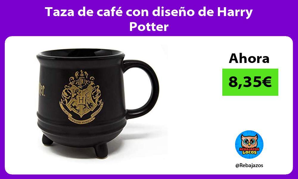 Taza de cafe con diseno de Harry Potter