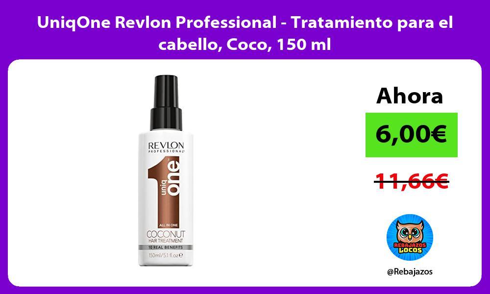 UniqOne Revlon Professional Tratamiento para el cabello Coco 150 ml
