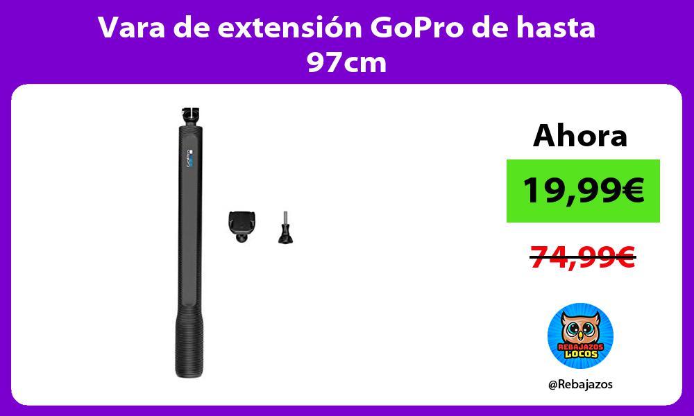 Vara de extension GoPro de hasta 97cm