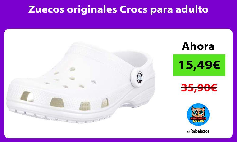Zuecos originales Crocs para adulto
