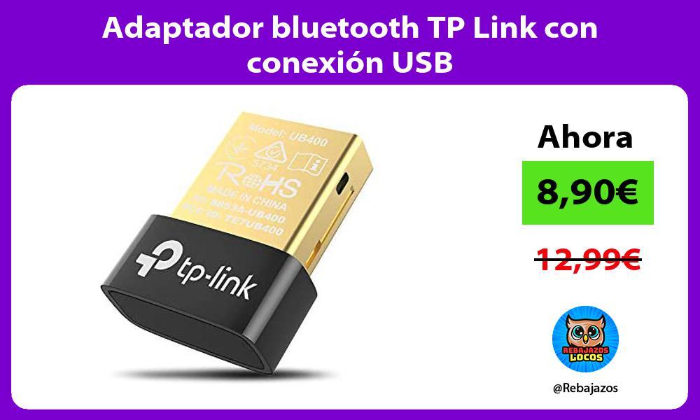 Adaptador bluetooth TP Link con conexion USB
