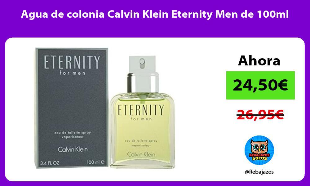 Agua de colonia Calvin Klein Eternity Men de 100ml